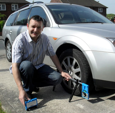 Trackace Diy Laser Wheel Alignment Tracking Gauge Poor Wheel